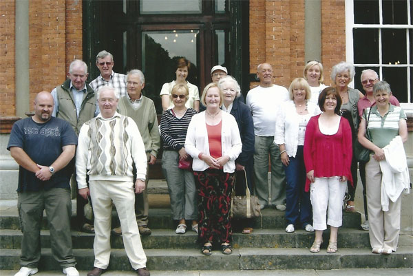 Members of the society at Beaulieu House